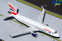 British Airways CityFlyer E170STD, G-LCYG Gemini 200 Diecast Display Model