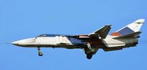 Su-24MR Fencer-E Russian Air Force, Yellow 40, Farnborough Airport, England, Farnborough Airshow 1992 (Clean Finish)