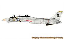 F-14A Tomcat USN VF-84 Jolly Rogers, AJ200, USS Nimitz, 1987 (Clean Finish)
