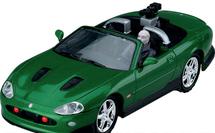 Jaguar XKR Diecast Model James Bond, Die Another Day, w/Figure