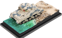 Sherman III British Army County of London Yeomanry, Siciliy, Italy, 1943, Beach Landing Diorama