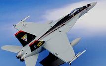 F/A-18E Super Hornet Diecast Model USN VFA-31 Tomcatters, AJ100, NAS Oceana, VA