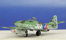 "Me 262A Luftwaffe 9./JG 7 Nowotny, ""White 3"", Hans-Guido Mutke, 1945"