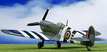 Supermarine Spitfire Mk V RAF No.234 (Madras) Sqn, RAF Deanland, England, June 1944