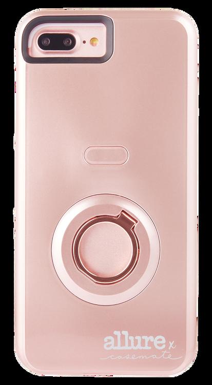 wholesale dealer e0ca8 d1a27 Case-Mate Allure Selfie Case iPhone 7+/6+/6S+ Plus - Rose Gold