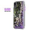 Case-Mate Waterfall Case iPhone XR - Purple Glow