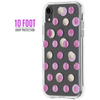 Case-Mate Wallpapers Case iPhone XR - Pink Dot