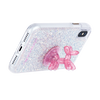 Case-Mate Sheer Crystal Balloon Dog Stand Up - Pink