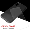 Case-Mate Tough Case and Screen Protector iPhone XR - Black Matte