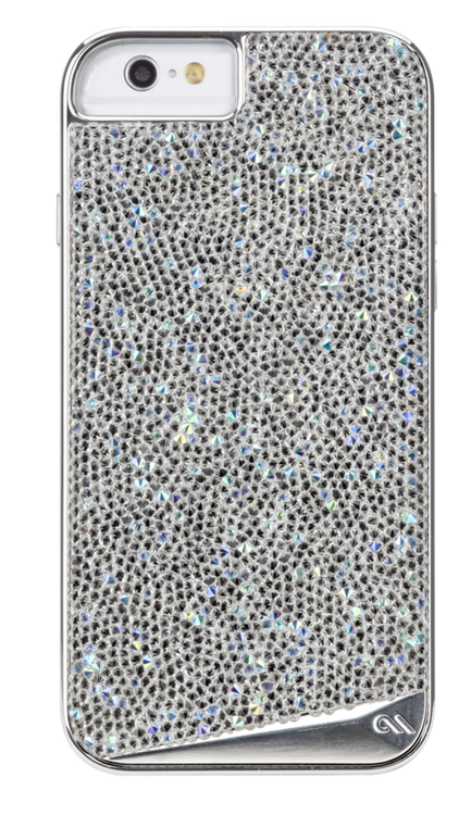 new product 8abec d3a32 Case-Mate Brilliance Case iPhone 6/6S - Silver Diamond