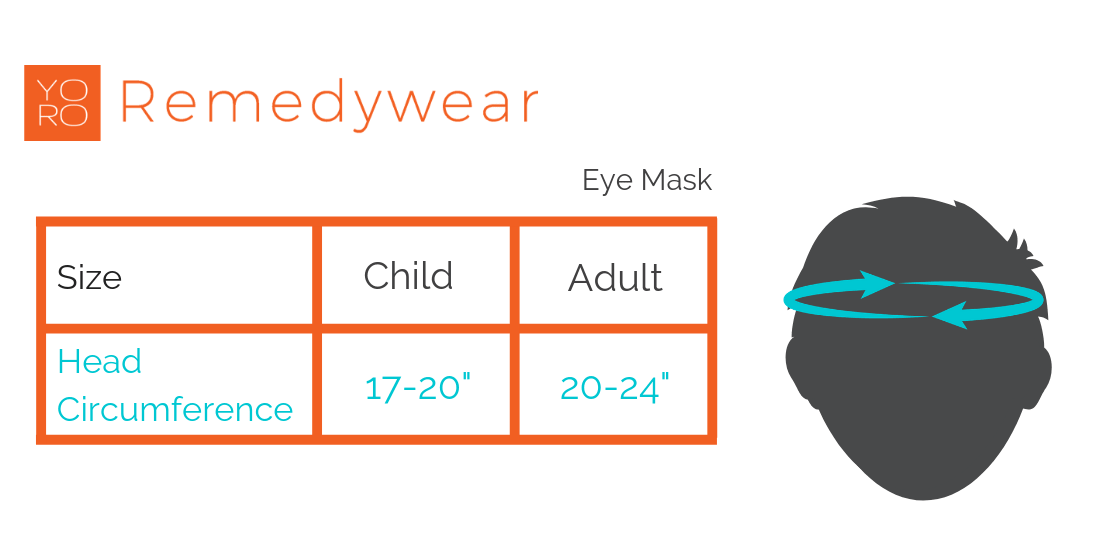 remedywear eye mask adult