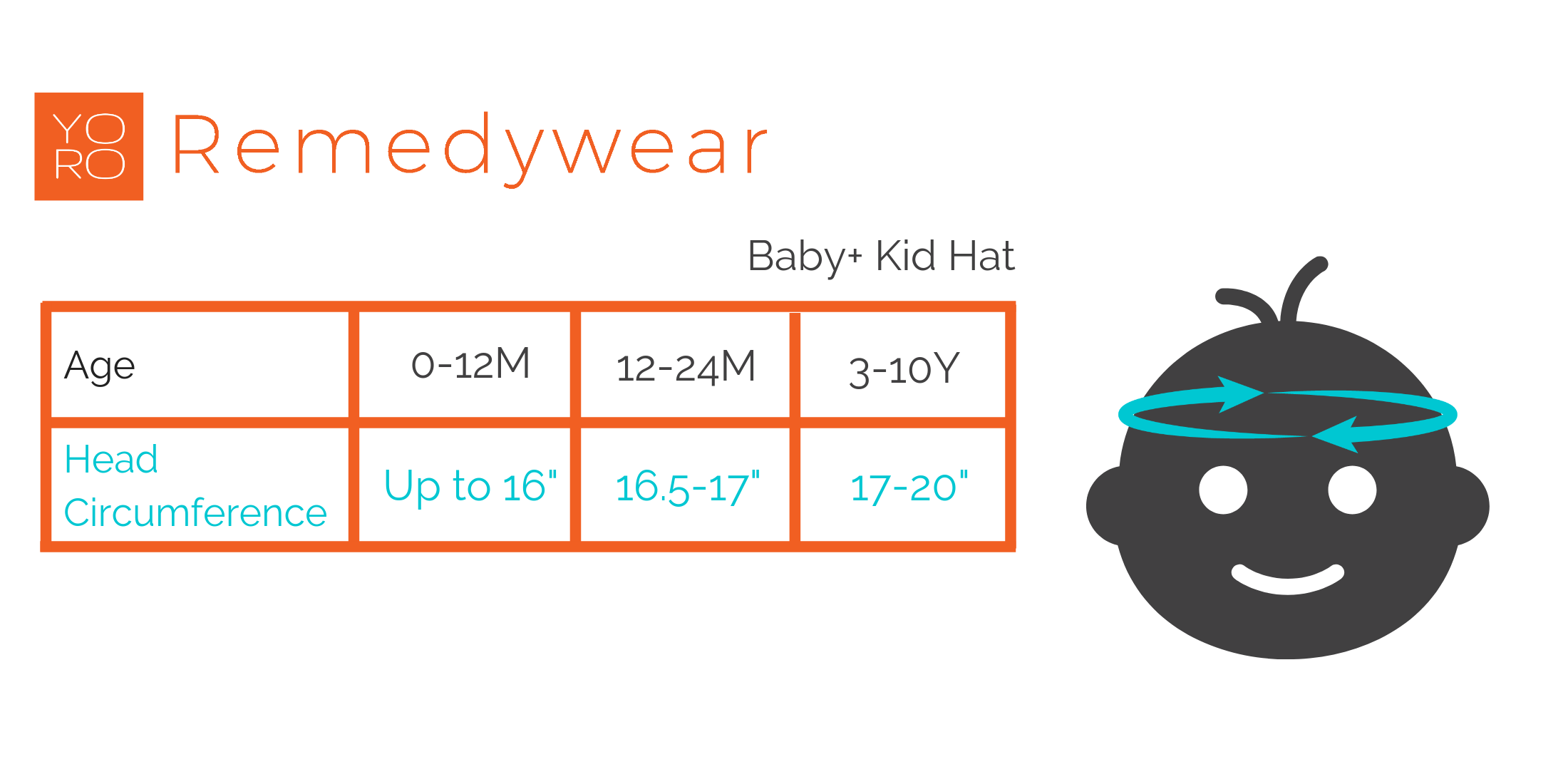 remedywear baby hat