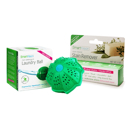 If you've ever asked, can detergent cause eczema, then know the answer is yes! The SmartKlean laundry ball is the best detergent for eczema because it's not detergent at all. It's a mineral ball that gently cleans clothing without causing skin irritations.