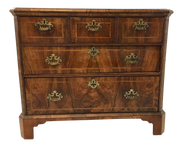Antique English Walnut Chest of Drawers