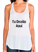 Camiseta TANK MUJER CON COLA  S/M