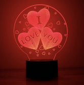 Bulbing Lamp Love
