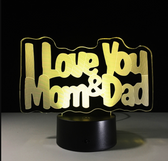 Lampara Bulbing Lamp Mom&Dad