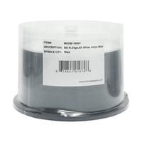 Microboards Blu-ray 6X 25GB White Inkjet Hub Printable 50 Pack - MEDB-10001