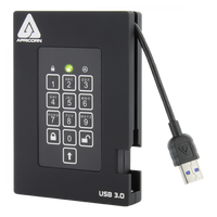 Apricorn Aegis Fortress USB 3.0 - 2TB Encrypted Hard Drive with FIPS 140-2 *SPECIAL ORDER*