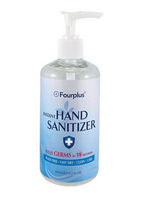 HAND SANITIZER GEL W/PUMP -70% Alcohol -300ML (579)