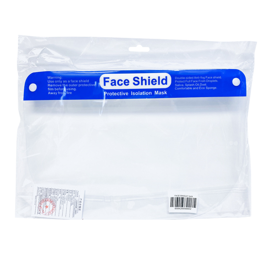 Adult Full Face Shield Single Pack