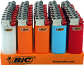 Bic Mini Lighters Tray 50ct -Catalog