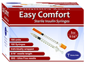 "Easy Comfort Syringes 30G 5/16"" 1cc (NDC 91237-0001-08) -Catalog"