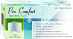 Pro Comfort Alcohol Pads (NDC 50632-0007-03) -Catalog