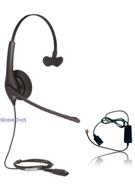 Polycom Compatible Jabra BIZ 1520 Direct Connect Headset