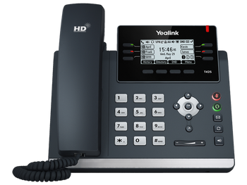 Yealink SIP-T42S - 12-Line IP Phone (PoE) - Without Power Supply