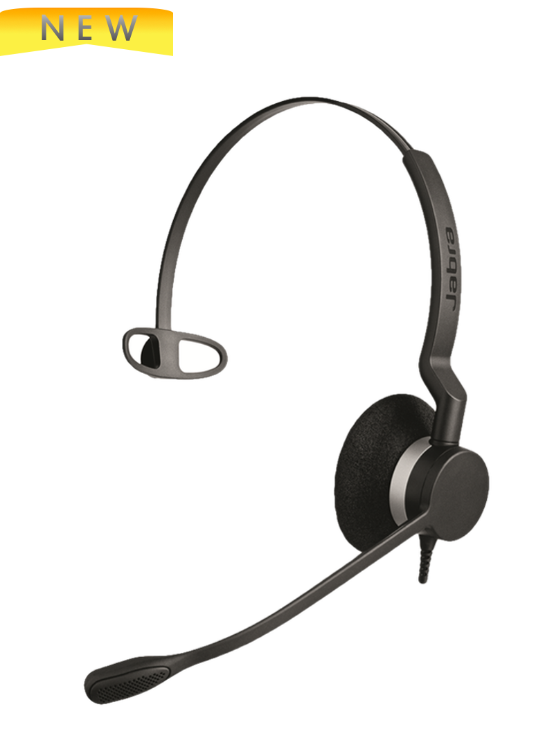 Jabra BIZ 2320 QD Mono headset, 2303-820-105 For Nortel, Polycom, Cisco,  Mitel, Avaya, ShoreTel and other business phones | Requires Adapter