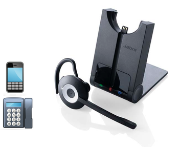 Jabra 925 Dual BT wireless Headset | 925-15-508-205 | Connects to Deskphone and Smartphone/Tablet