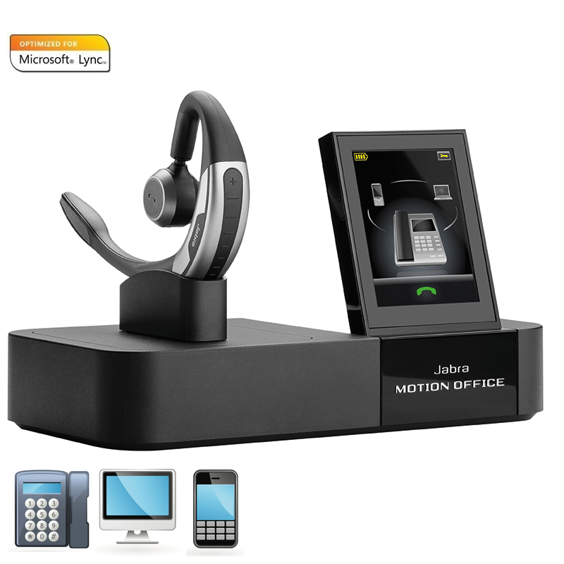 bfa04d6555a Jabra MOTION Bluetooth Wireless Headset. See 6 more pictures. Loading zoom