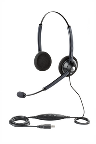 Jabra 1900 USB PC Wideband Headset (DUO), 1989-829-107