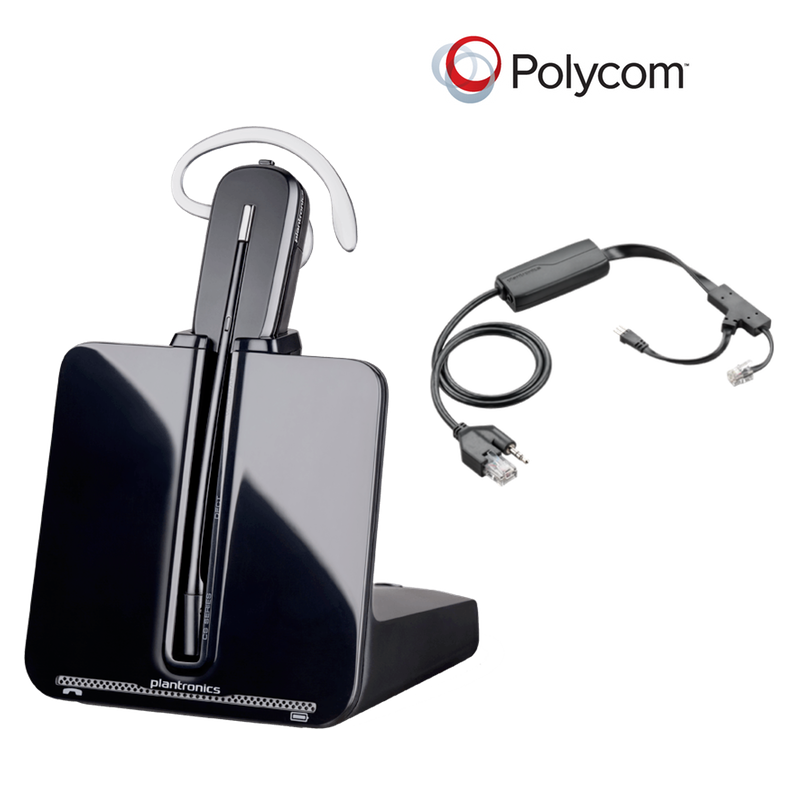 21a2cd69c5e Polycom Compatible CS540 Plantronics IP Wireless Headset Bundle - Electronic  (EHS) included | SoundPoint       Phones: IP 335, IP 430, IP 450, IP 550,  ...