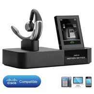 Cisco Certified JABRA Motion Office UC Bluetooth Wireless Headset | Certified for Cisco Phones: 89xx, 99xx, 7925G, IP Communicator (CIPC), 6670-904-105