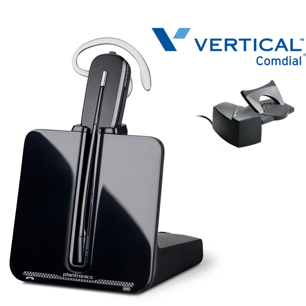 5be129c7925 Comdial Vertical Compatible Plantronics Wireless Headset CS540 Bundle |  Remote Answerer Included| For MBX, SBX IP Phones: 320, DX-80, 7260 | Edge  120, 700, ...
