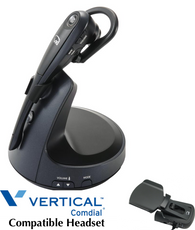 Vertical And Comdial Compatible Wireless Headsets