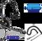 Plantronics ENCOREPRO 510 (HW510) Direct Connect for Cisco phones |  7931G, 7940, 7941G, 7942G, 7945G, 7960, 7961, 7961G, 7962G, 7965G, 7970, 7971,7971G, 7975, 7975G and other models with RJ-9 headset port