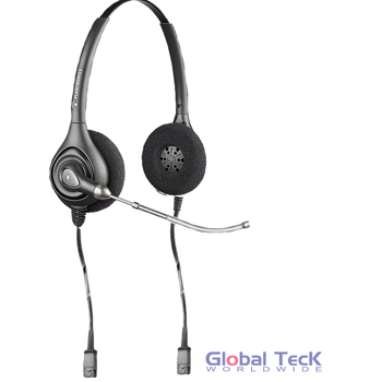 Spare Plantronics Binaural VoiceTube Headset for SMH 1783-11 | Dictation, ADA, JAWS | Headset only # 91064-04