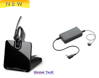 Toshiba Compatible Wireless Headset | Plantronics Voyager Legend CS EHS | Electronic Remote Answering (Bundle) | For the office | 88863-11