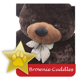 Brownie Cuddles famous giant teddy bear