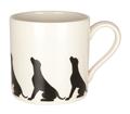 Mug Silhouette Labrador Pattern