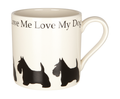 Mug Love Me Love My Dog Scottie