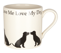 Mug Love Me Love My Dog - Terrier