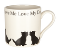 Mug Love Me Love My Dog Westie
