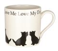 Mug Love Me Love My Dog Westie