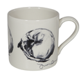 Mug - Jack Curled Up from an original artwork by Justine Osborne