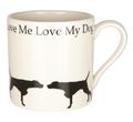 Mug Love Me Love My Dog - Pointer