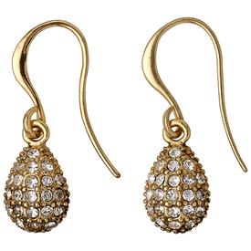 Pilgrim Hemisphere Drop Earrings Gold Plated 18133-2013